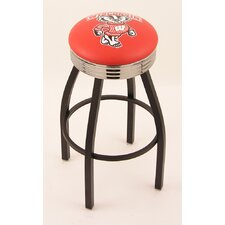 Logo Series Bar Stool with Ribbed Ring