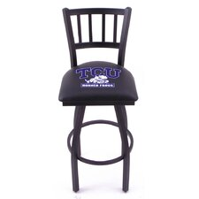 "NCAA 25"" Bar Stool with Cushion"