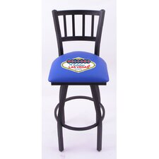 "Gambling 30"" Swivel Bar Stool with Cushion"