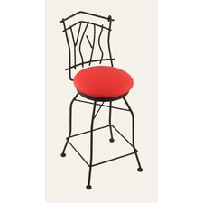 "Aspen 30"" Swivel Bar Stool with Cushion"