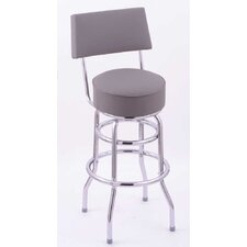 "Classic 25"" Swivel Bar Stool with Cushion"