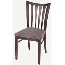 Designer Slat Back Side Chair