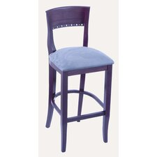 Hampton 3160 Solid Hardwood Stationary Bar Stool