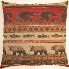 Bear Country Knife Edge Polyester Pillow (Set of 2)