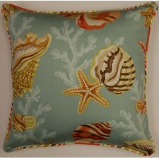 Coral Bay Cord Sea Glass Cotton Pillow (Set of 2)