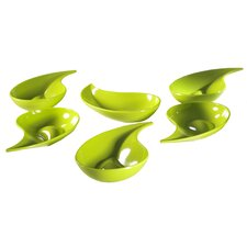 Small Entities Teardrop Snack Bowl (Set of 6)