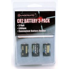 3V CR-2 Batteries (Set of 3)