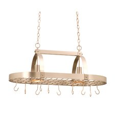 2 Light Hanging Pot Rack