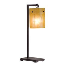 Madera Table Lamp with Drum Shade