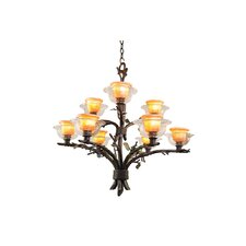 Cottonwood 9 Light Chandelier