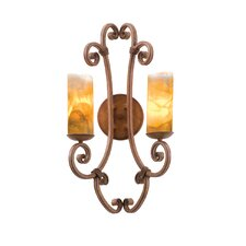 Stratford 2 Light Wall Sconce