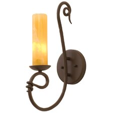 <strong>Kalco</strong> Vine 1 Light Wall Sconce with Shade