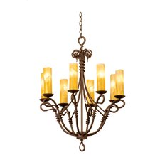 <strong>Kalco</strong> Vine 8 Light Chandelier