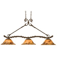 <strong>Kalco</strong> Vine 3 Light Kitchen Island Pendant