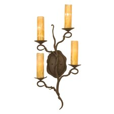 Vine 4 Light Wall Sconce