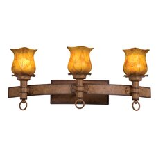 Americana 3 Light Bath Vanity Light