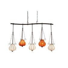 <strong>Kalco</strong> Mardi Gras 5 Light Kitchen Island Pendant