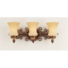 Hamilton 3 Light Bath Vanity Light