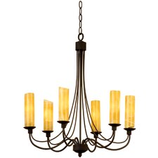 <strong>Kalco</strong> Richmond 6 Light Chandelier