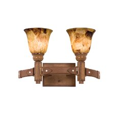 Rodeo Drive 2 Light Bath Vanity Light