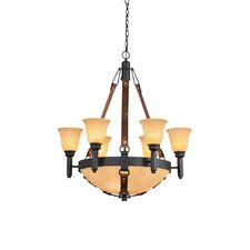 <strong>Kalco</strong> Rodeo Drive 9 Light Chandelier