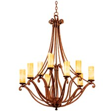 <strong>Kalco</strong> Somerset 9 Light Chandelier