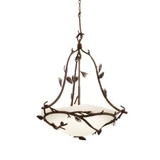 Ponderosa 3 Light Bowl Inverted Pendant