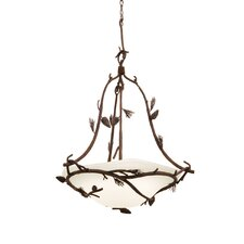 Ponderosa 6 Light Bowl Inverted Pendant