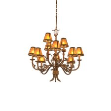 <strong>Kalco</strong> Ponderosa 12 Light Chandelier