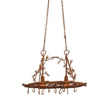 <strong>Kalco</strong> Ponderosa 2 Light Hanging Pat Rack