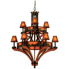 Aspen 9 Light Chandelier