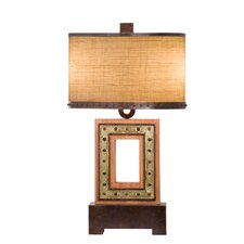 Aspen 2 Light Square Table Lamp