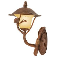 Ponderosa 1 Light Outdoor Wall Lantern