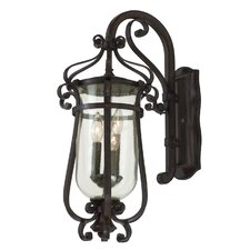 Hartford 3 Light Outdoor Wall Lantern