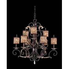 <strong>Kalco</strong> Chesapeake 9 Light Chandelier