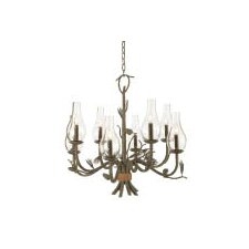 Ponderosa 8 Light Chandelier
