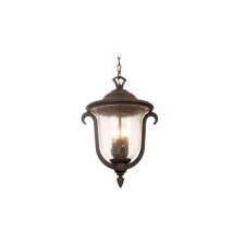 <strong>Kalco</strong> Santa Barbara 3 Light Outdoor Hanging Lantern