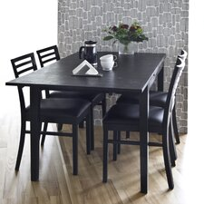 Ronja 5 Piece Dining Set