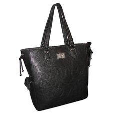 <strong>Adrienne Vittadini</strong> Pebble Grain Laptop Briefcase