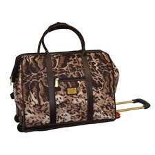 Animal Print 20.5'' 2-Wheeled Duffel
