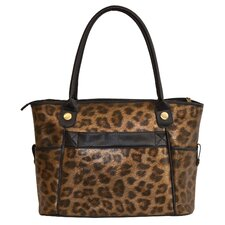 Animal Print Laptop Tote