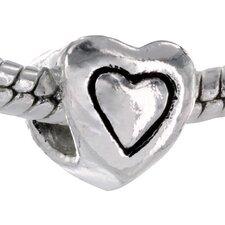 Heart Shaped Bead Charm