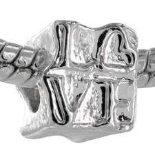 Love Block Formation Bead Charm