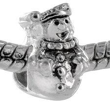 Jolly Snowman Bead Charm