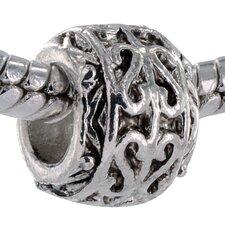 Intricate Heart Bead Charm