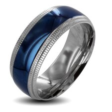 Men's Stainless Steel Wedding Band Ring