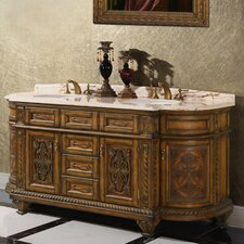 "<strong>Legion Furniture</strong> 71"" Solid Wood Double Vanity Set"