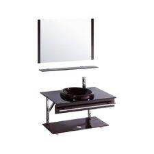 "32"" Single Bathroom Vanity Set with Mirror I"