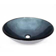 Ocean Water Vessel Bathroom Sink