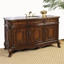 "<strong>Legion Furniture</strong> 60"" Hatherleigh Sink Chest Vanity Set"